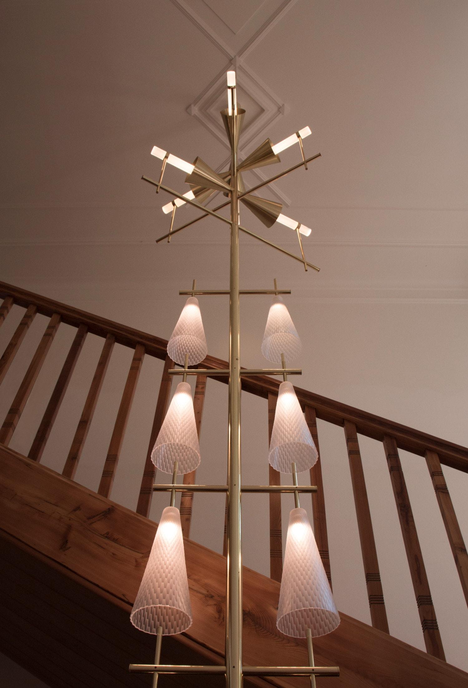 Hydrometridae-site-specific-lighting-object-chandelier-svítidlo-lustr-design-rony-plesl-and-jiri-krejcirik