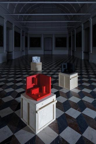 belvedere ronyplesl exhibition installation výstava instalace design jiri krejcirik
