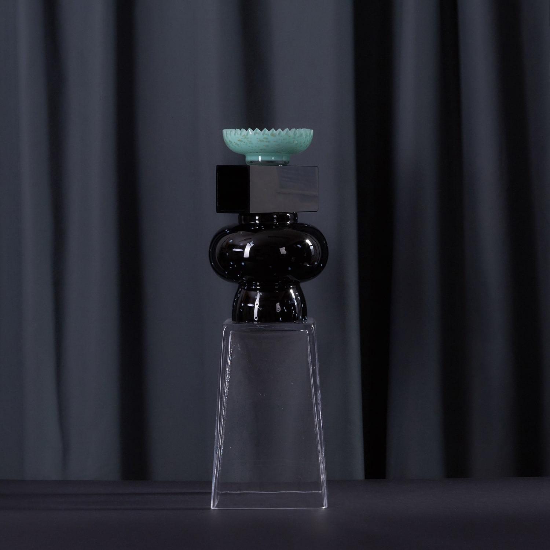 the winner trophy hockey challenge cup glass object hokej pohar trofej sklo objekt vyrobeno v cechach produced czechrepublic design by jiri krejcirik 1