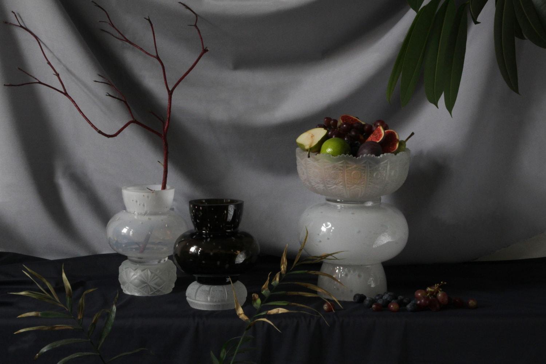 heritage contemporary glass art object kolekce skleněných objektů jiri krejcirik