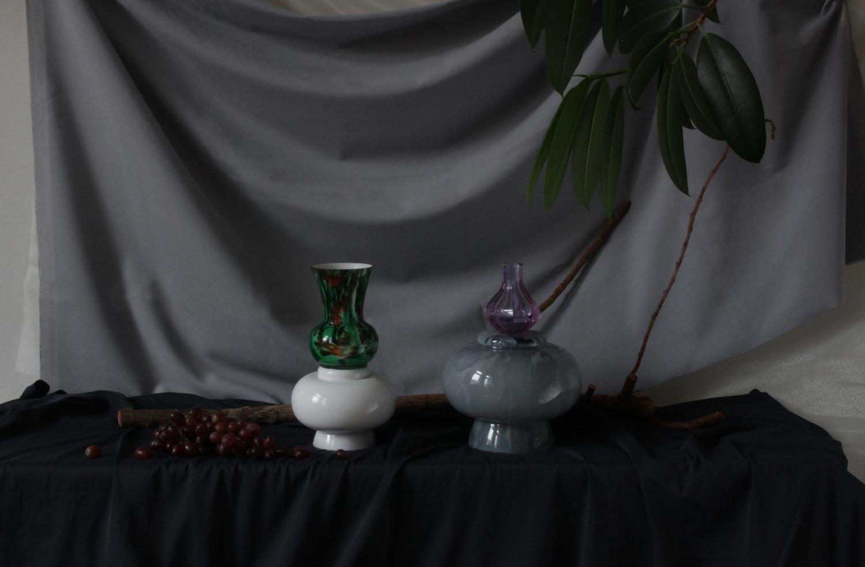 heritage contemporary glass art objects bohemian handcut handblown traditional heritage czech skleněné objekty vázy mísy tradiční broušené sklo atelier photos jiri krejcirik