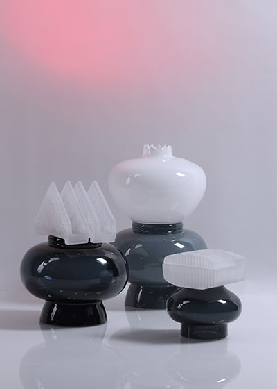 heritage contemporary glass art objects atelier photos jiri krejcirik