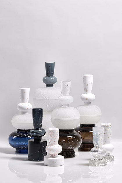 jewel caskets limited collection glass objects handblown handcut czechglass sklenene objekty rucne foukane ceske sklo design jirikrejcirik main