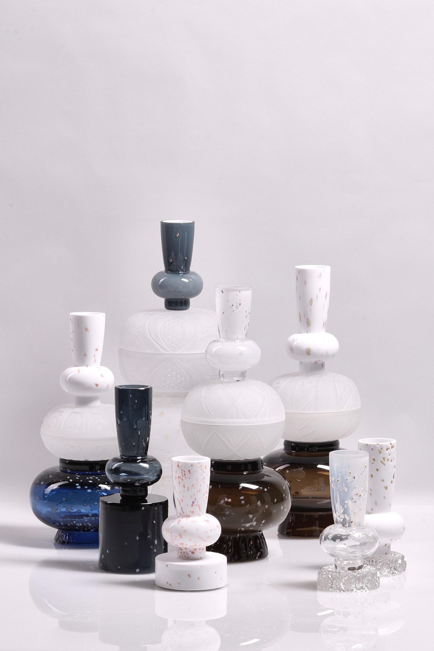 jewel caskets limited collection glass objects handblown handcut czechglass sklenene objekty rucne foukane ceske sklo design jirikrejcirik web 1 min