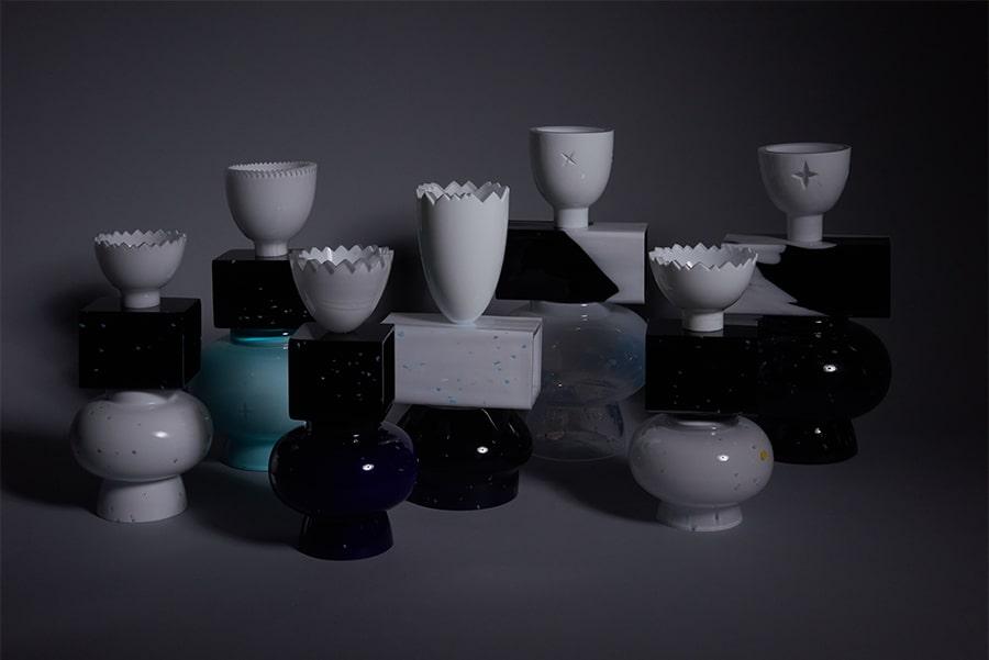 forms symbols limited collection glass objects handblown handcut czechglass sklenene objekty rucne foukane ceske sklo design jirikrejcirik 4