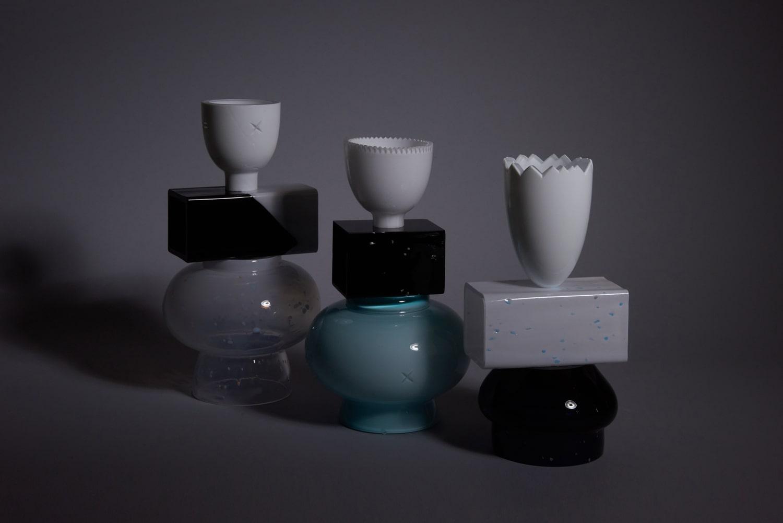 forms symbols limited collection glass objects handblown handcut czechglass sklenene objekty rucne foukane ceske sklo design jirikrejcirik web 1
