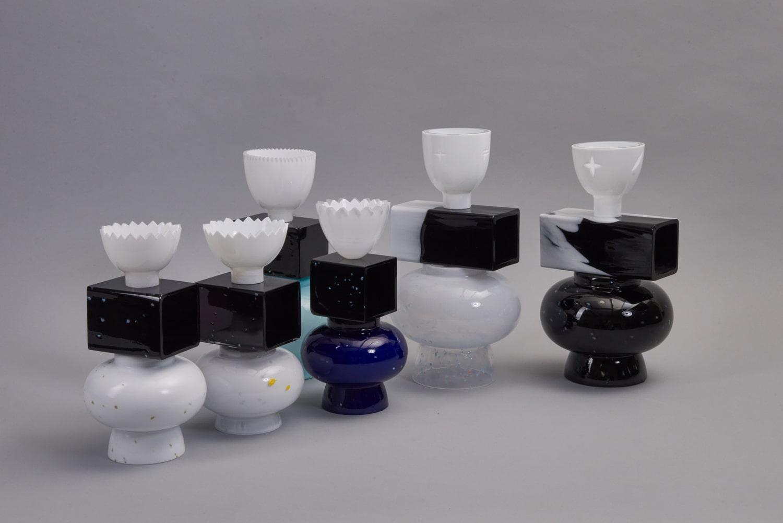 forms symbols limited collection glass objects handblown handcut czechglass sklenene objekty rucne foukane ceske sklo design jirikrejcirik web 13