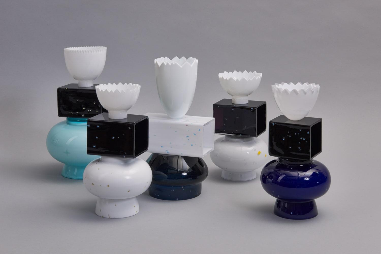 forms symbols limited collection glass objects handblown handcut czechglass sklenene objekty rucne foukane ceske sklo design jirikrejcirik web 2