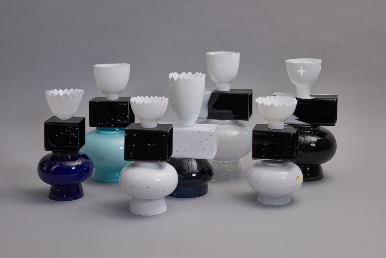 forms symbols limited collection glass objects handblown handcut czechglass sklenene objekty rucne foukane ceske sklo design jirikrejcirik web 3