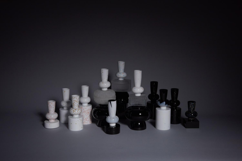 archetypes vases jewel caskets limited collection glass objects handblown handcut czechglass sklenene objekty rucne foukane ceske sklo design jirikrejcirik web 2020 1
