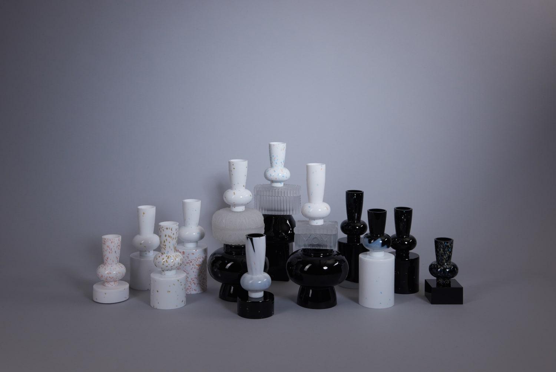 archetypes vases jewel caskets limited collection glass objects handblown handcut czechglass sklenene objekty rucne foukane ceske sklo design jirikrejcirik web 2020 2